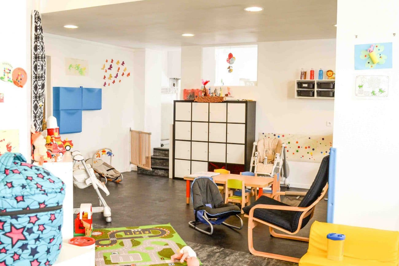 Salle d'activités micro-crèche