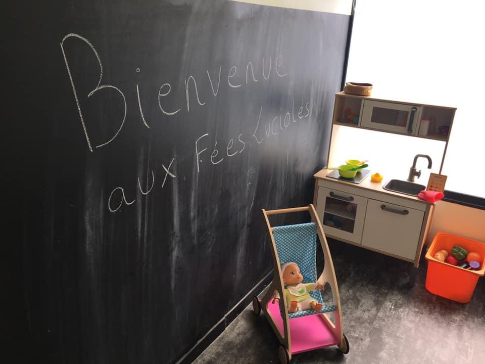 Tableaux à craies  - Micro-crèche Fushia Le Havre